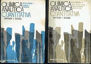 Química analítica cuantitativa, 2 vols.: Arthur I. Vogel.