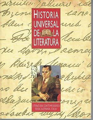 Historia Universal de la Literatura, tomo 18. Literatura contemporánea: Rusia, Alemania, ...