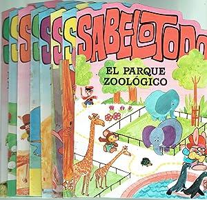 Colección Sabelotodo.: María del Carmen Ferrer (textos) y Boadas (dibujos).