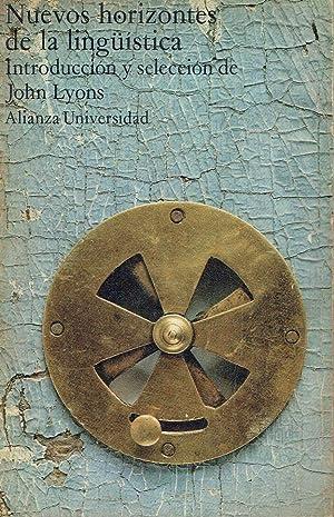 Nuevos horizontes de la lingüística.: John Lyons (introducción