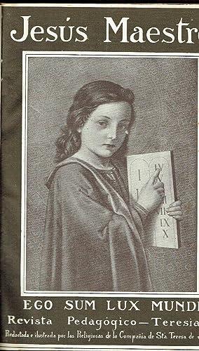 Jesús Maestro, nº 118 a 129. Revista Pedagógico-Teresiana.: Religiosas de la Cia...