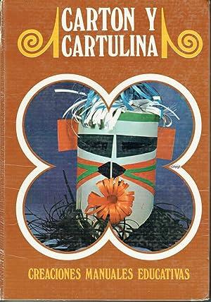 Cartón y cartulina. Creaciones manuales educativas.