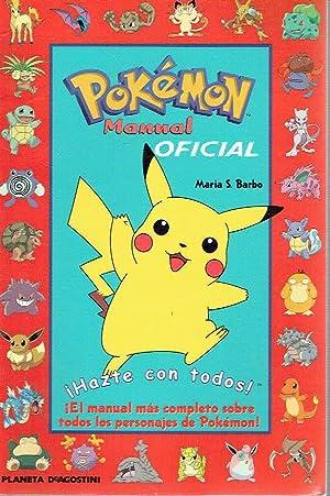 Pokémon. Manual oficial.: Maria S. Barbo.