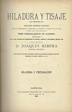 Hiladura y Tisaje II. Hiladura y Preparación.: Joaquin Ribera.