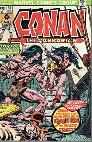 Conan the Barbarian, nº 58. Queen of the Black Coast.