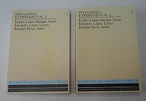 Pedagogía experimental I, 2 vols.: Emilio López-Barajas Zayas,