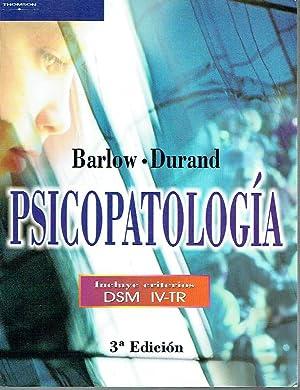 Psicopatología.: David H. Barlow y V. Mark Durand.