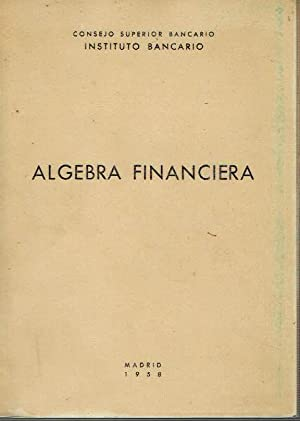 Álgebra financiera.