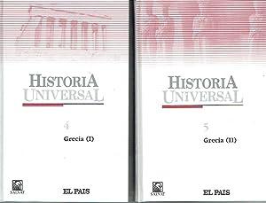 Grecia, 2 vols. Historia Universal, nº 4: VV.AA.