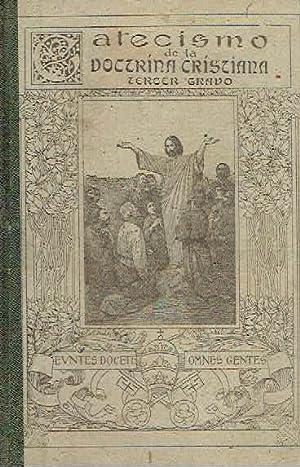 Catecismo de la Doctrina Cristiana, tercer grado.