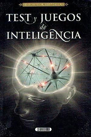 Test y juegos de inteligencia.: Pablo Escalera.