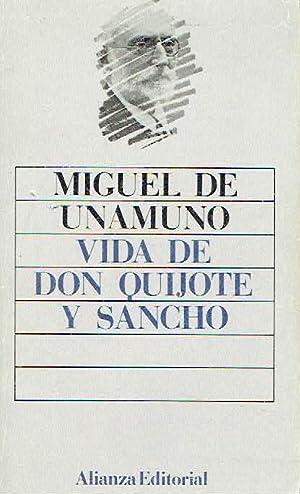 Vida de Don Quijote y Sancho.: Miguel de Unamuno.