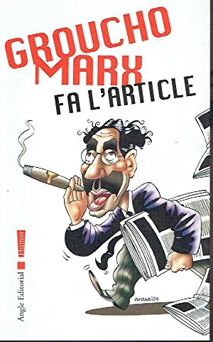 Groucho Marx fa l'article.