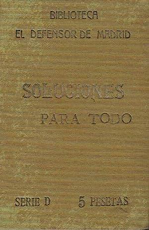 Soluciones para todo. (3 obras en un: Leopoldo Morató Ventura.
