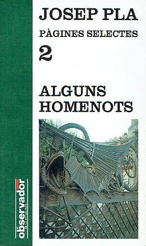 Alguns homenots.: Josep Pla.