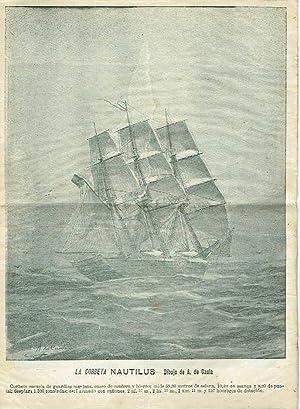 Viaje de circunnavegación de la Corbeta Nautilus,: D. Fernando Villaamil.