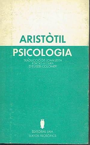 Psicologia.: Aristòtil.