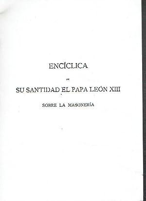 Encíclica de su santidad el papa León