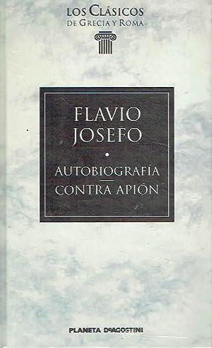 Autobiografía. Contra Apión.: Flavio Josefo.