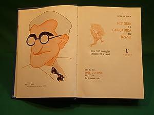 História da caricatura no Brasil. Com 910: Lima, H.