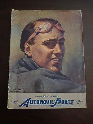AUTOMOVIL Y SPORTS. Año III, Nº 25,