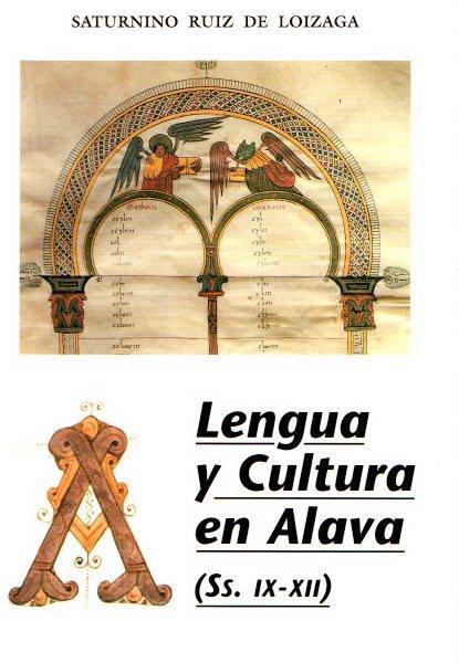 Lengua y cultura en Álava . - Ruiz de Loizaga, Saturnino