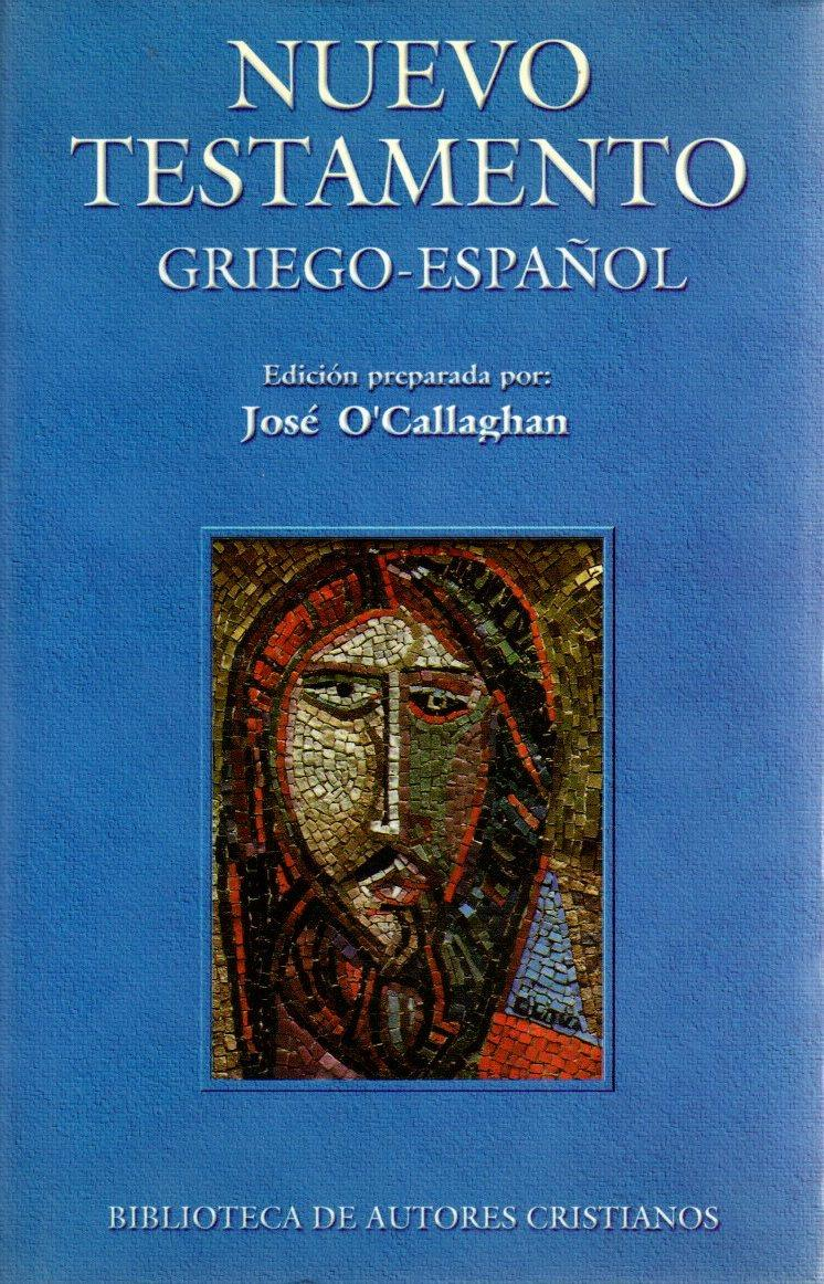 Nuevo Testamento Griego - Español .