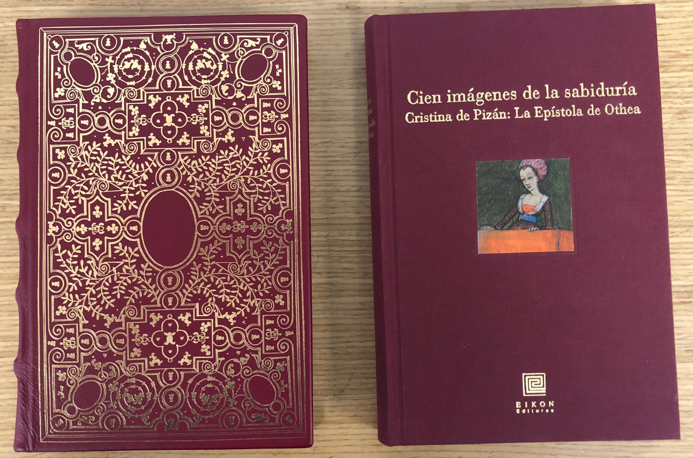 Christine de Pizan / Cristina de Pizán: Epistre othea / 100 imágenes de sabiduría . - Christine de Pisan