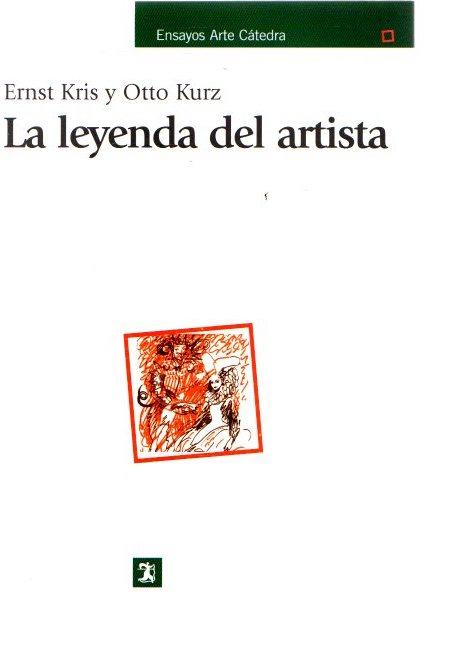 La leyenda del artista . - Kris, Ernst/Kurz, Otto