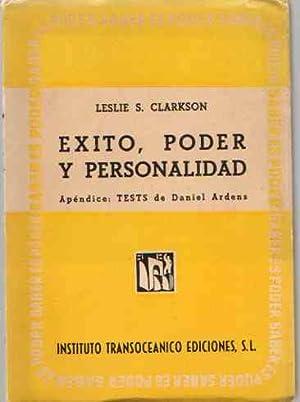 Éxito, poder y personalidad. Apéndice, los tests: Clarkson, Leslie S.