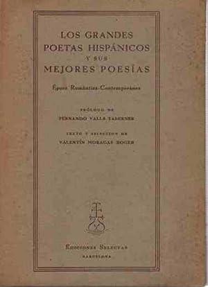 Los grandes poetas hispánicos y sus mejores