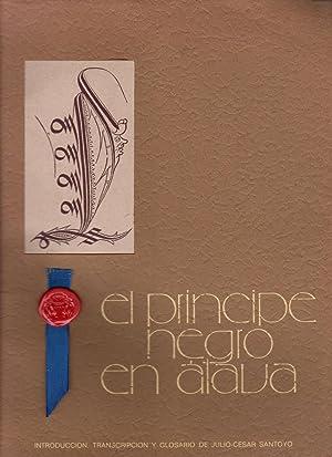 El Príncipe Negro en Alava Introducción, transcripción: Santoyo, Julio-Cesar