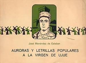 Auroras y letrillas populares a la Virgen: Menéndez de Esteban,