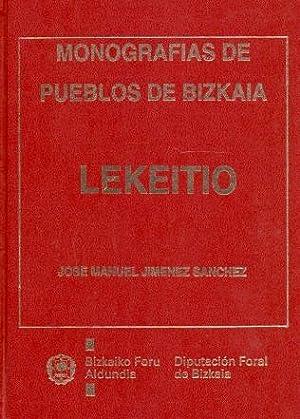 Lekeitio Estudio histórico-artístico.: Jiménez Sánchez, José