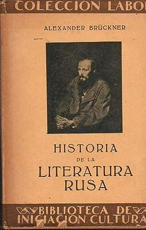 Historia de la Literatura Rusa .: Brückner, Alexander