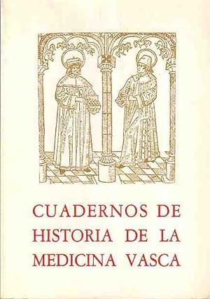 Cuadernos de historia de la medicina vasca.