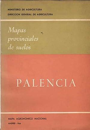 Mapas Provinciales de Suelos. Palencia .