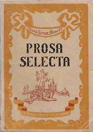 Prosa selecta de autores españoles para lectura: Gómez Bravo, Vicente