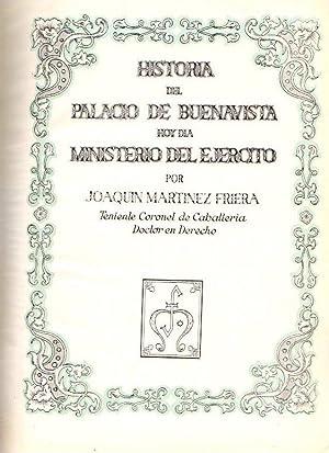 Historia del Palacio de Buenavista hoy dia: Martinez Friera, Joaquin