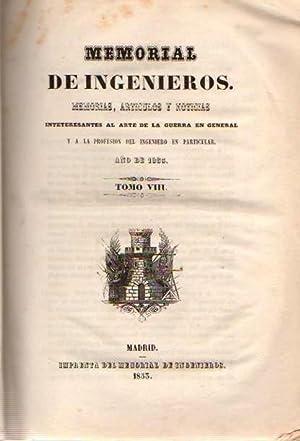 Memorial de Ingenieros. Memorias, artículos y noticias: Regacho, Manuel/ Sánchez