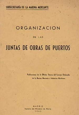 Organización de las juntas de obras de: Subsecretaría de la