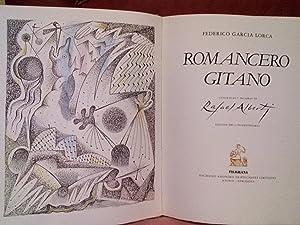 ROMANCERO GITANO. LITOGRAFIAS Y PALABRAS DE RAFAEL: FEDERICO GARCIA LORCA