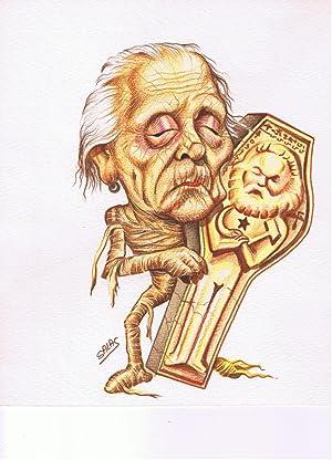 DIBUJO ORIGINAL del ilustrador Jose Luis SALAS: Jose Luis SALAS