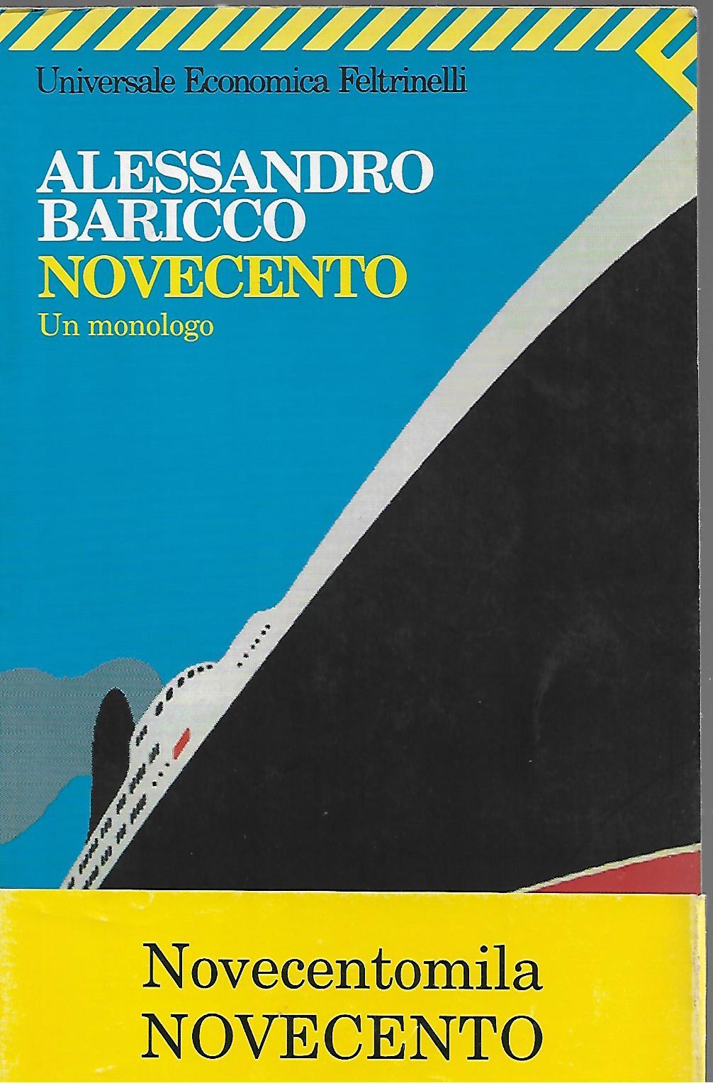 Novecento Un Monologo Wiring Library 1932 Dodge Diagram Di Baricco Alessandro Abebooks