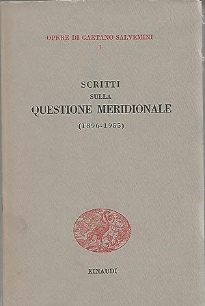 scritti sulla questione meridionale 1896 1955: salvemini gaetano