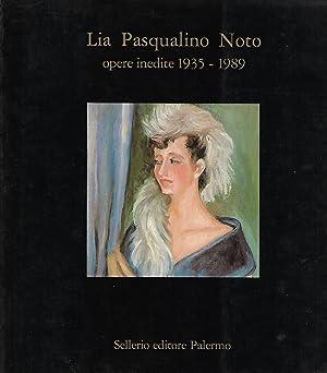 lia pasqualino noto opere inedite 1935 -: banco di sicilia