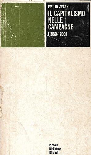 il capitalismo nelle campagne 1860 1900: sereni emilio
