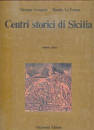 centri storici di sicilia: gangemi g. la franca r.