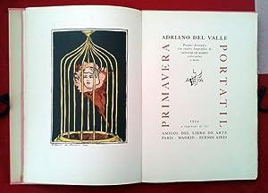 Primavera portatil. Poemas decorados con cuatro litografías: Adriano DEL VALLE
