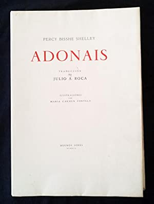 Adonais.: Percy Bisshe SHELLEY